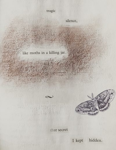 tragic silence like moths, Kristina Moriconi