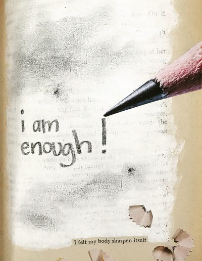 i am enough, Kristina Moriconi