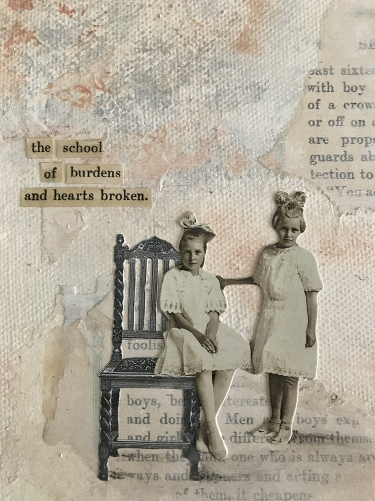 the school of burdens, Kristina Moriconi